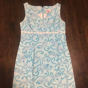 EUC Lilly Pulitzer Staci Dress White Label, Size 8